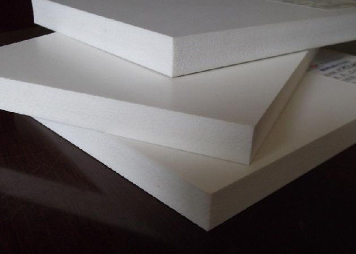 4x8 White PVC Foam Board Sheet Eco Friendly Creative UV Printing For Cabinet